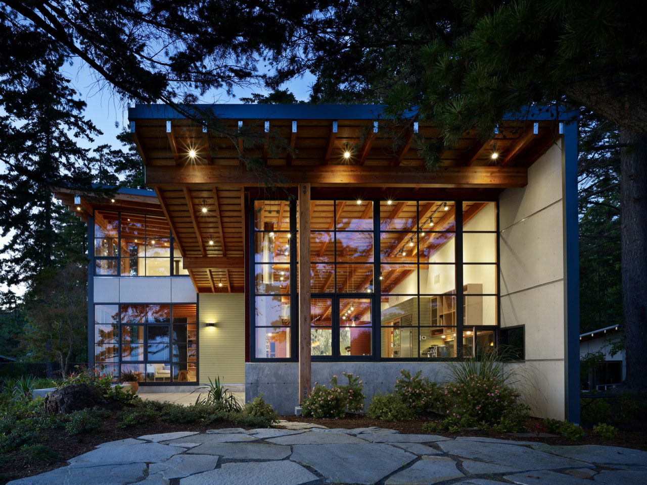 Award winning residence in bellingham idesignarch Modern residence