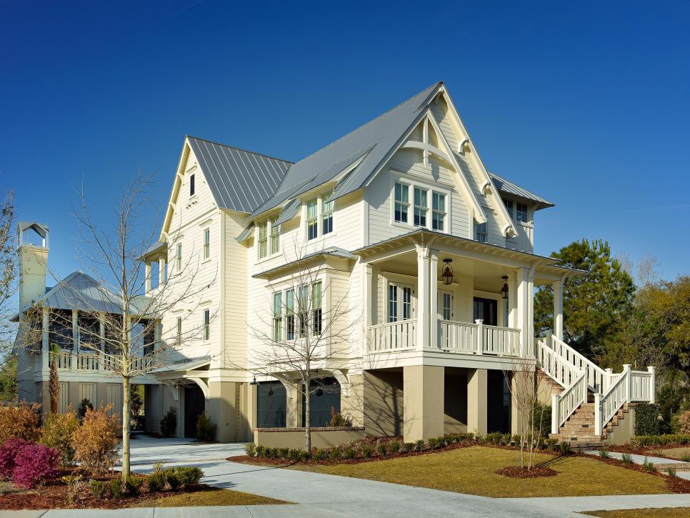 Classic Cottage Style Coastal Home Charleston South Carolina 3