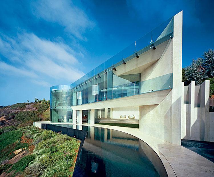 Daring cliffside house design in la jolla idesignarch for Modern homes la