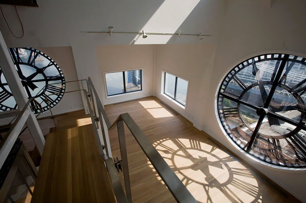 Clock Tower Penthouse In Brooklyn Idesignarch Interior