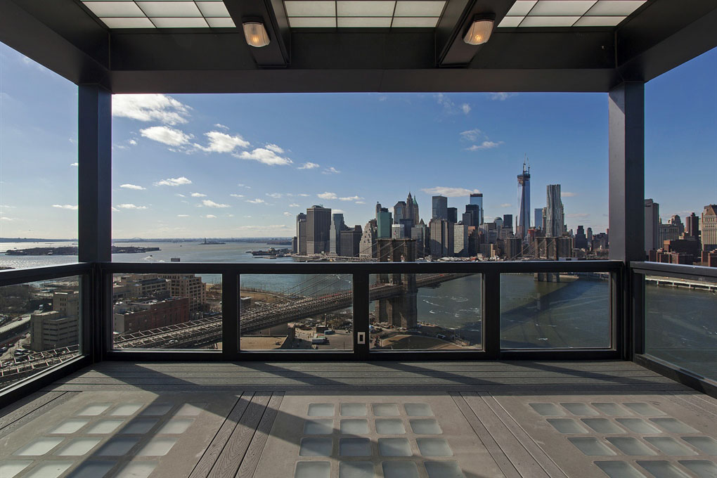 brooklyn apartment with views of lower manhattan - Manhattan Penthouse Apartments