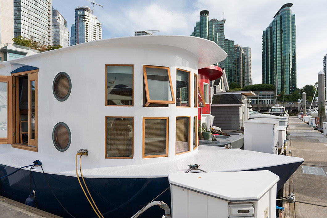 Tiny Home Designs: Cute Houseboat Provides Affordable Living With A Unique