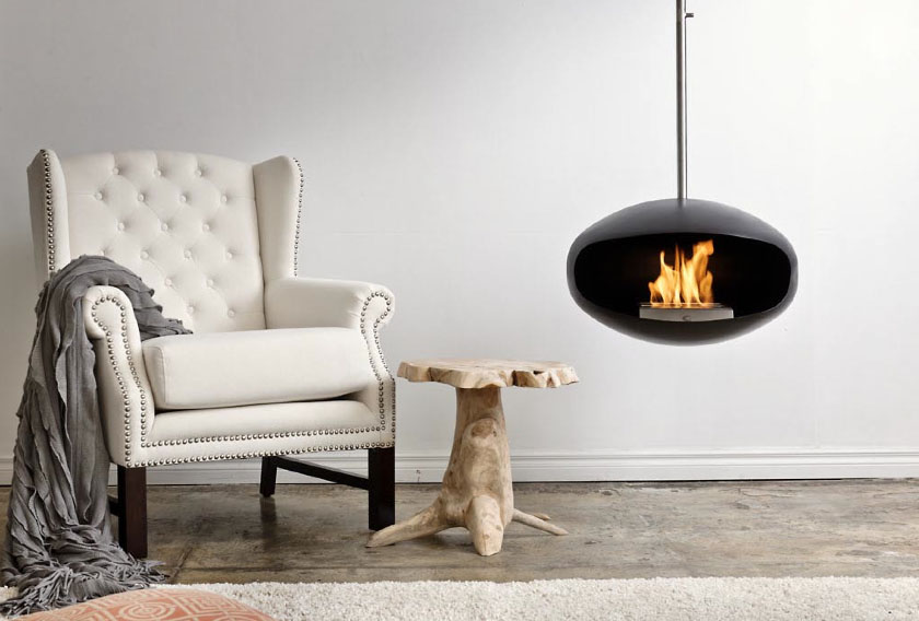 Cocoon Contemporary Fireplaces Idesignarch Interior Design Architecture Interior