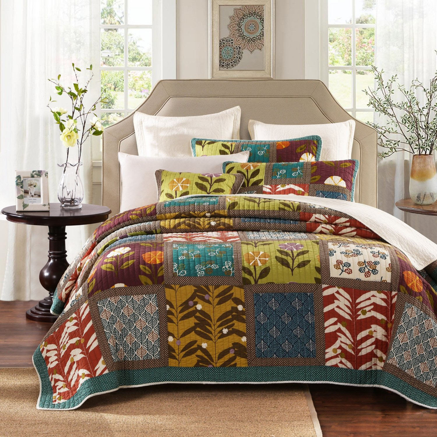 king bohemian quilt doona pce hip set queen cover xandine duvet itm