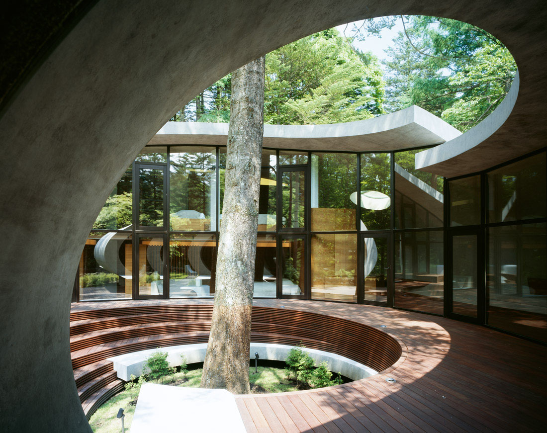 Concrete Shell Villa The Forest Idesignarch