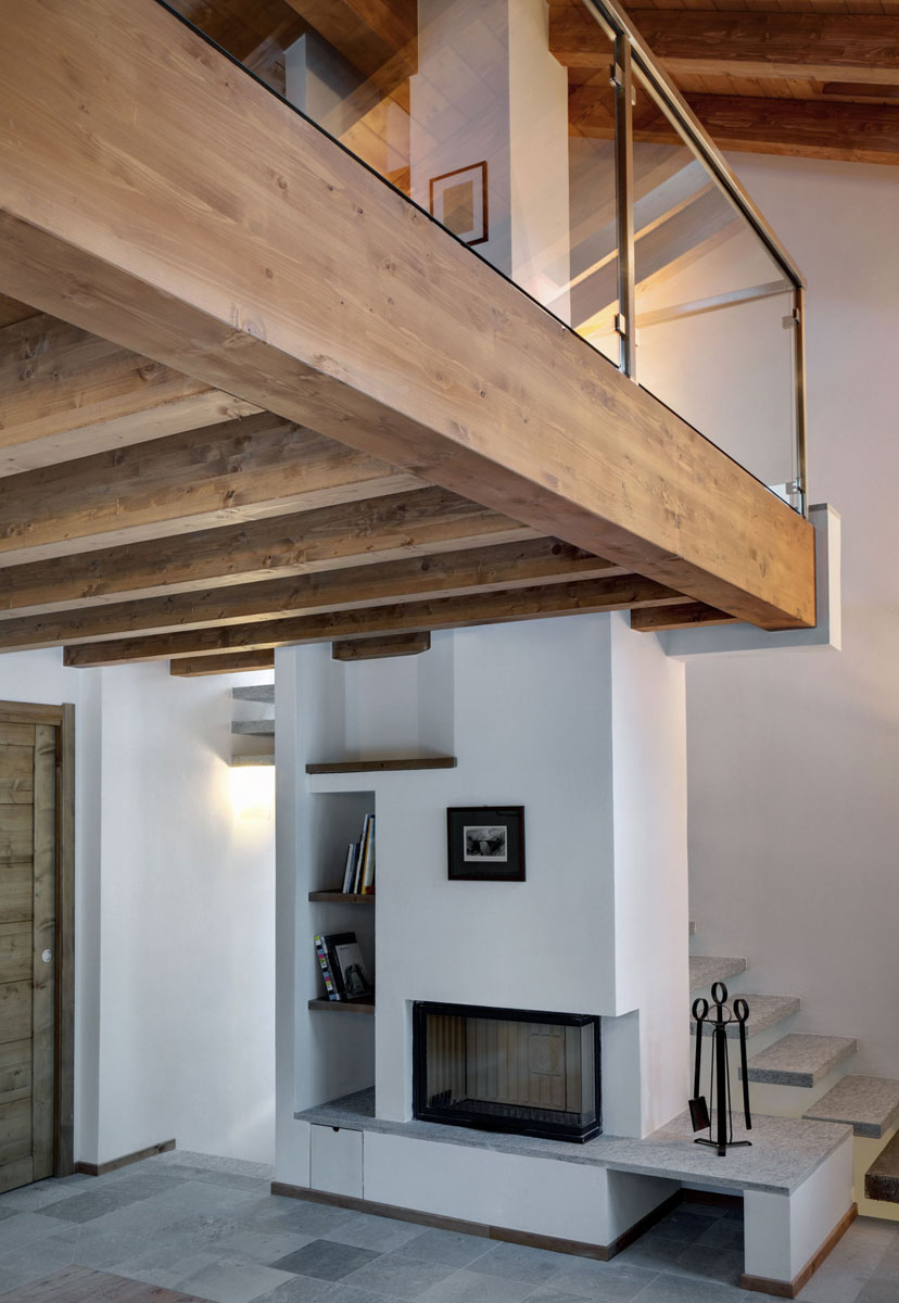Country houses interior - Contemporary Country House In Italy