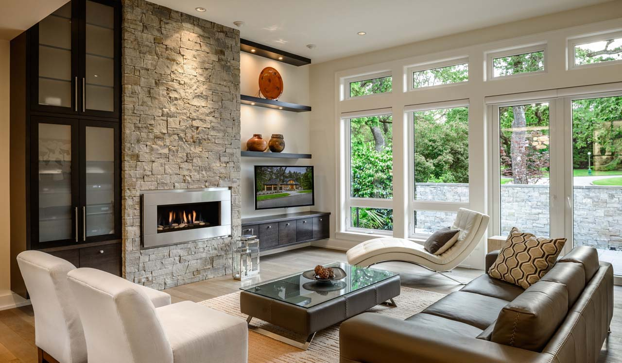 Beautifully Crafted Contemporary Custom Home In British Columbia - Custom home interior design