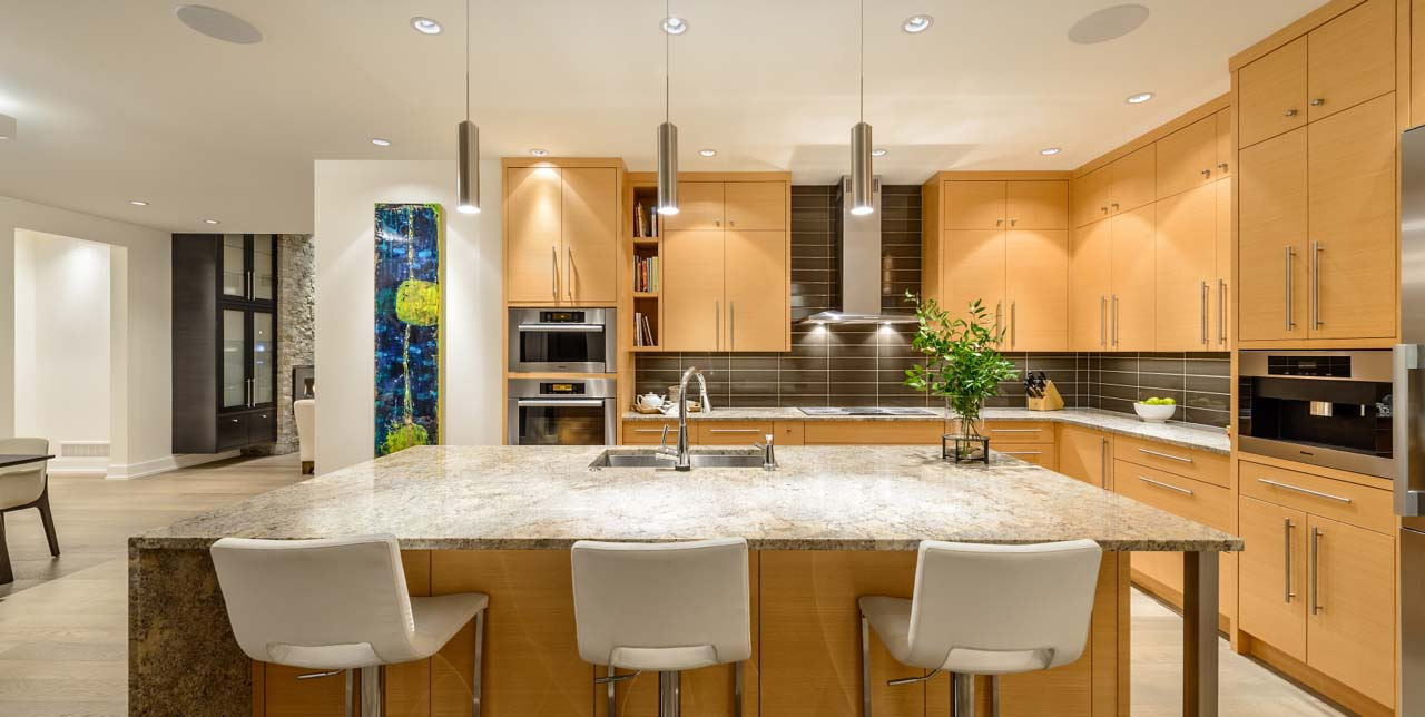 Contemporary Custom Kitchen Design