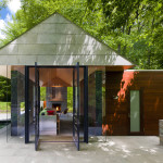 Contemporary Garden Pavilion Pool House