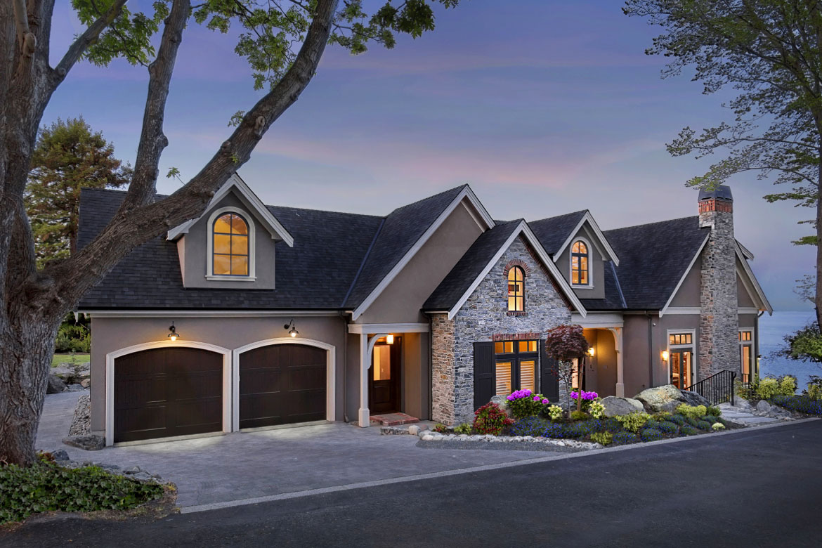 Contemporary Luxury French Country House Oak Bay Victoria BC1