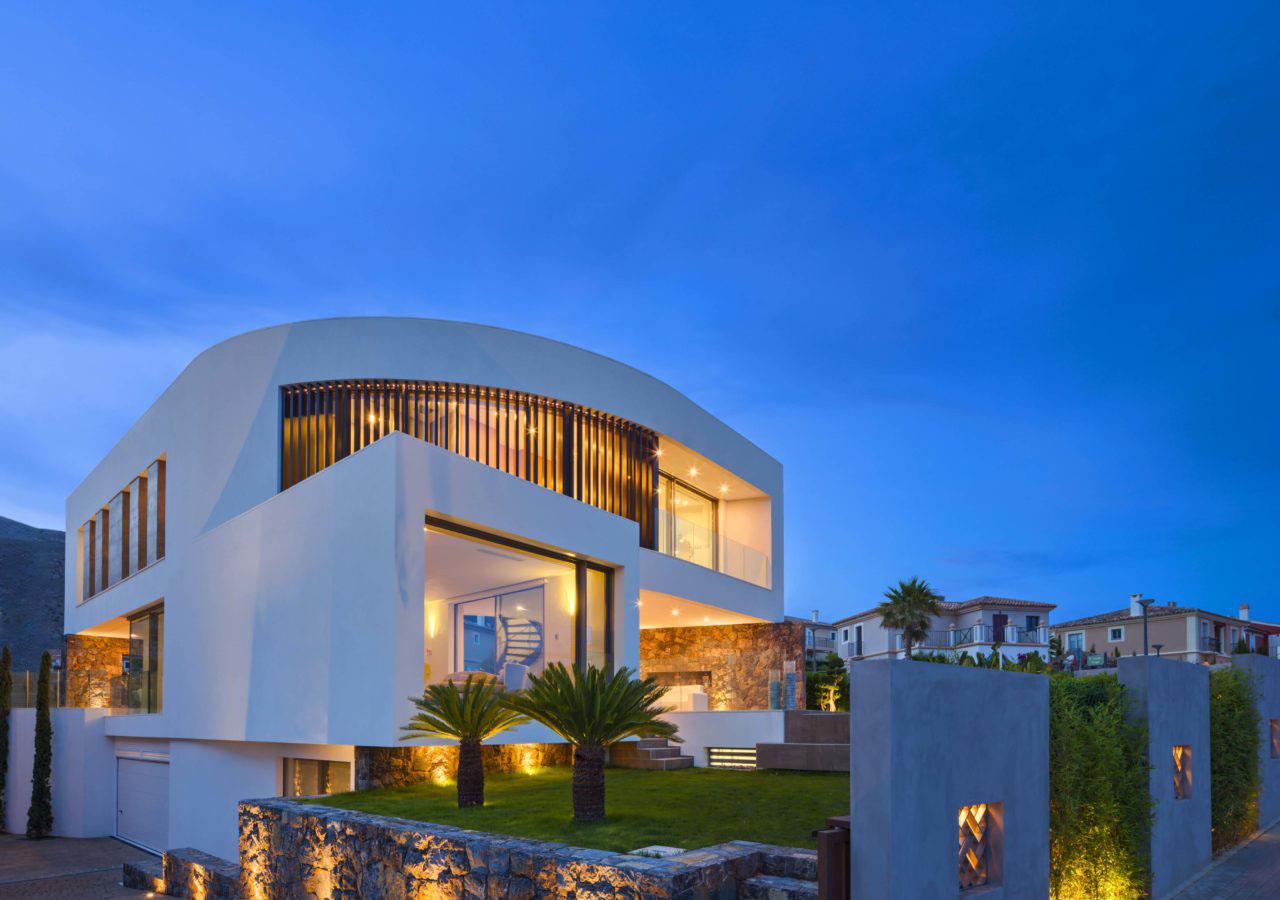 Contemporary Mediterranean Home Casa Finestrat Alicante