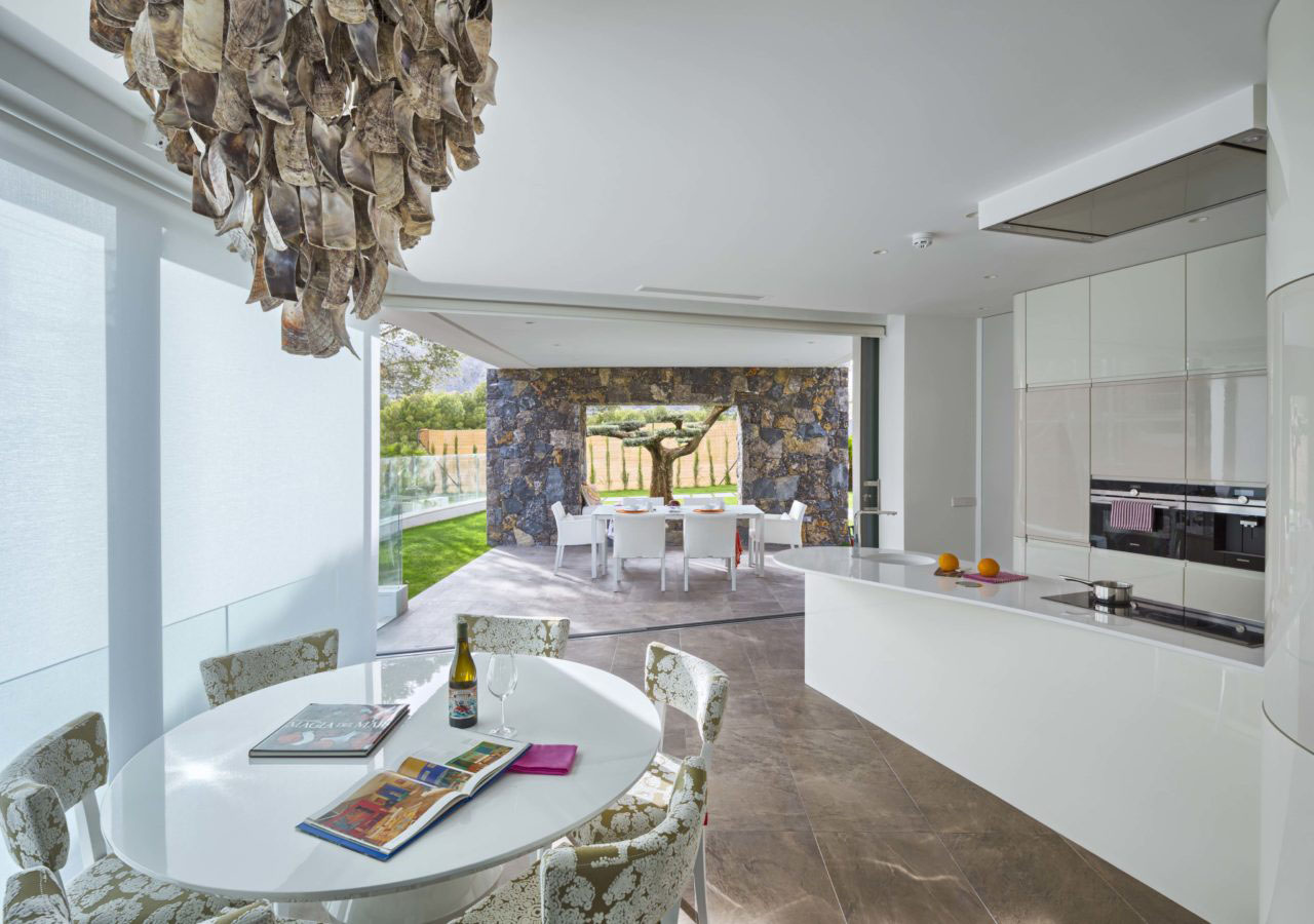 Contemporary Mediterranean Home Casa Finestrat Alicante