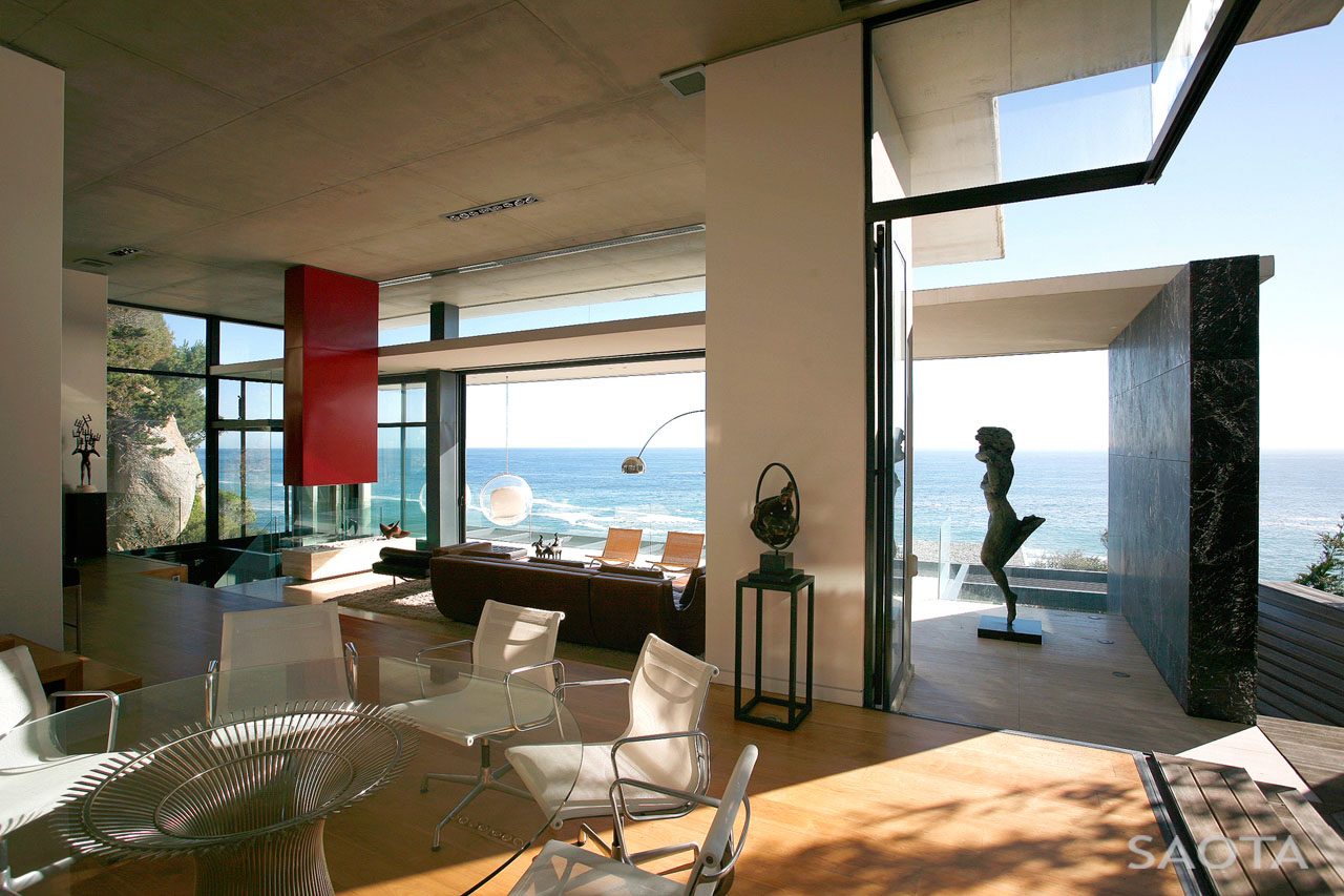 Contemporary seaside villa in cape town idesignarch - Modern house interior design ...