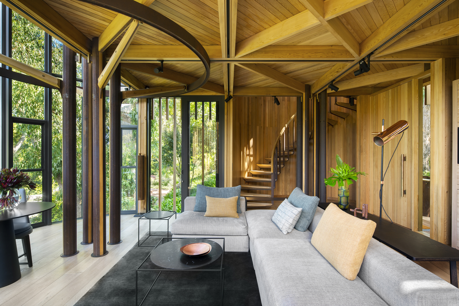 Contemporary Hide-Away Tree House on a Forested Estate | iDesignArch on south be, south sa, south tv,