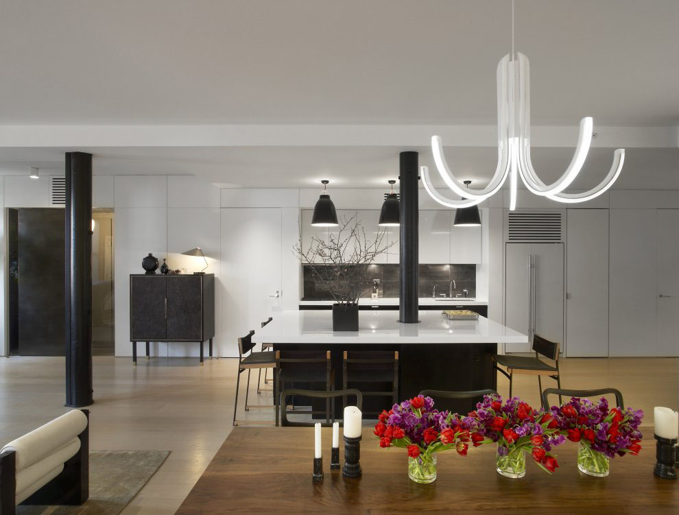 Contemporary New York Apartment · Modern Tribeca Apartment