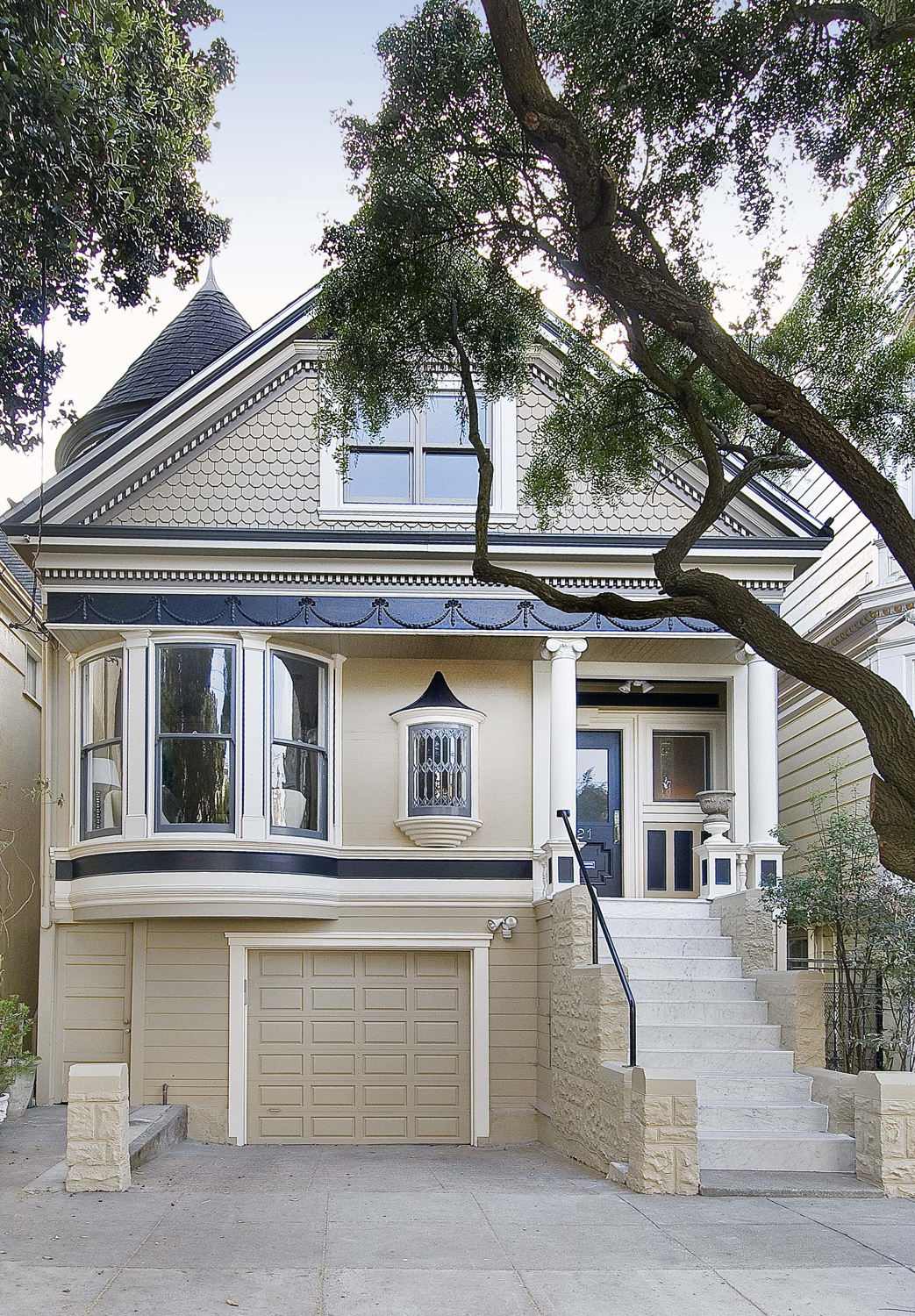 Remodeled classic victorian house in san francisco for Modern homes san francisco