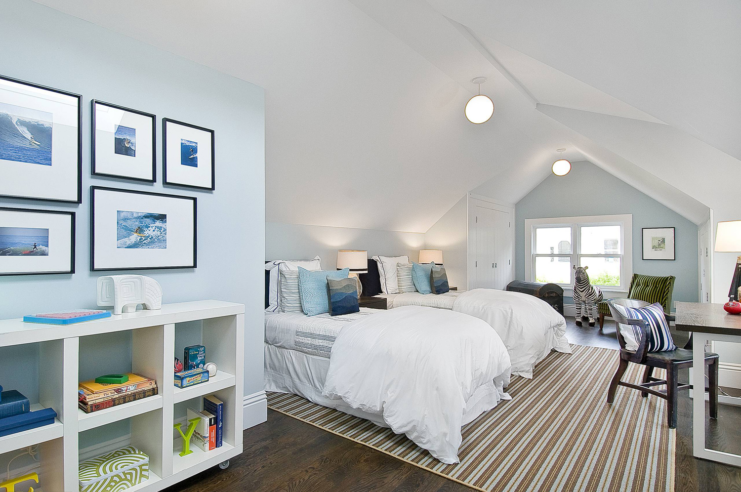 Children's Attic Bedroom