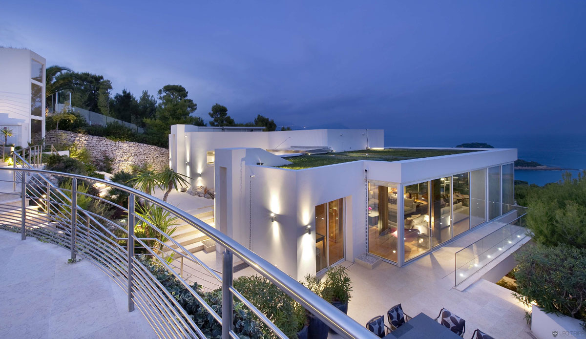 Contemporary Ocean View Villa In Cte DAzur IDesignArch