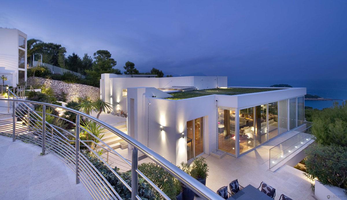 Contemporary Ocean View Villa In C Te D 39 Azur IDesignArch