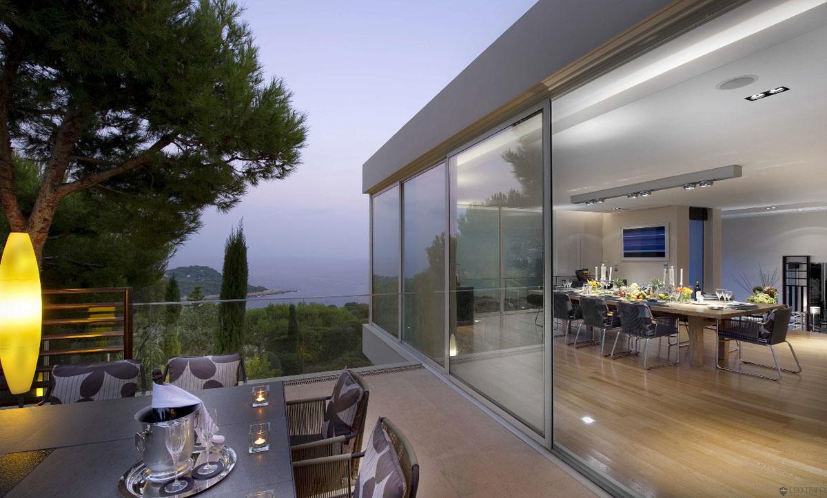 Contemporary Ocean View Villa In Côte d\'Azur | iDesignArch ...