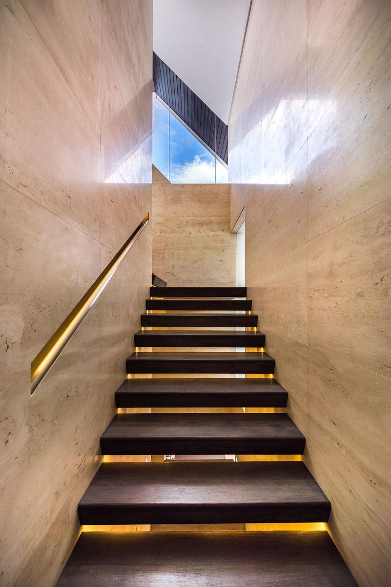 Geometrische Formen Farben Modernes Haus