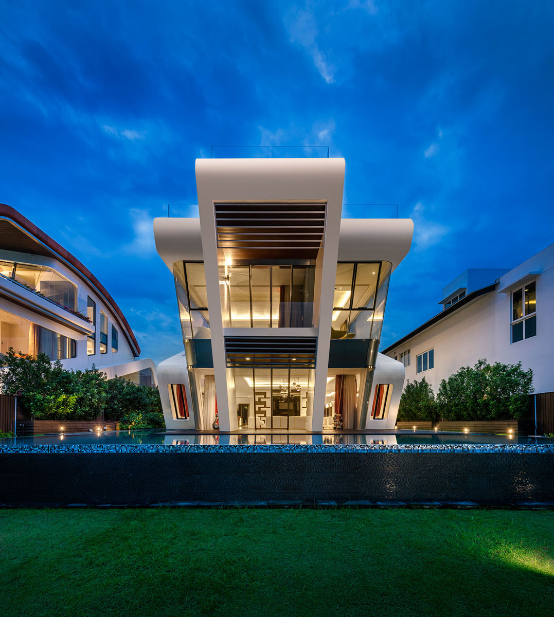 Contemporary Home Design: One Of A Kind Modern Residential Villa In Singapore