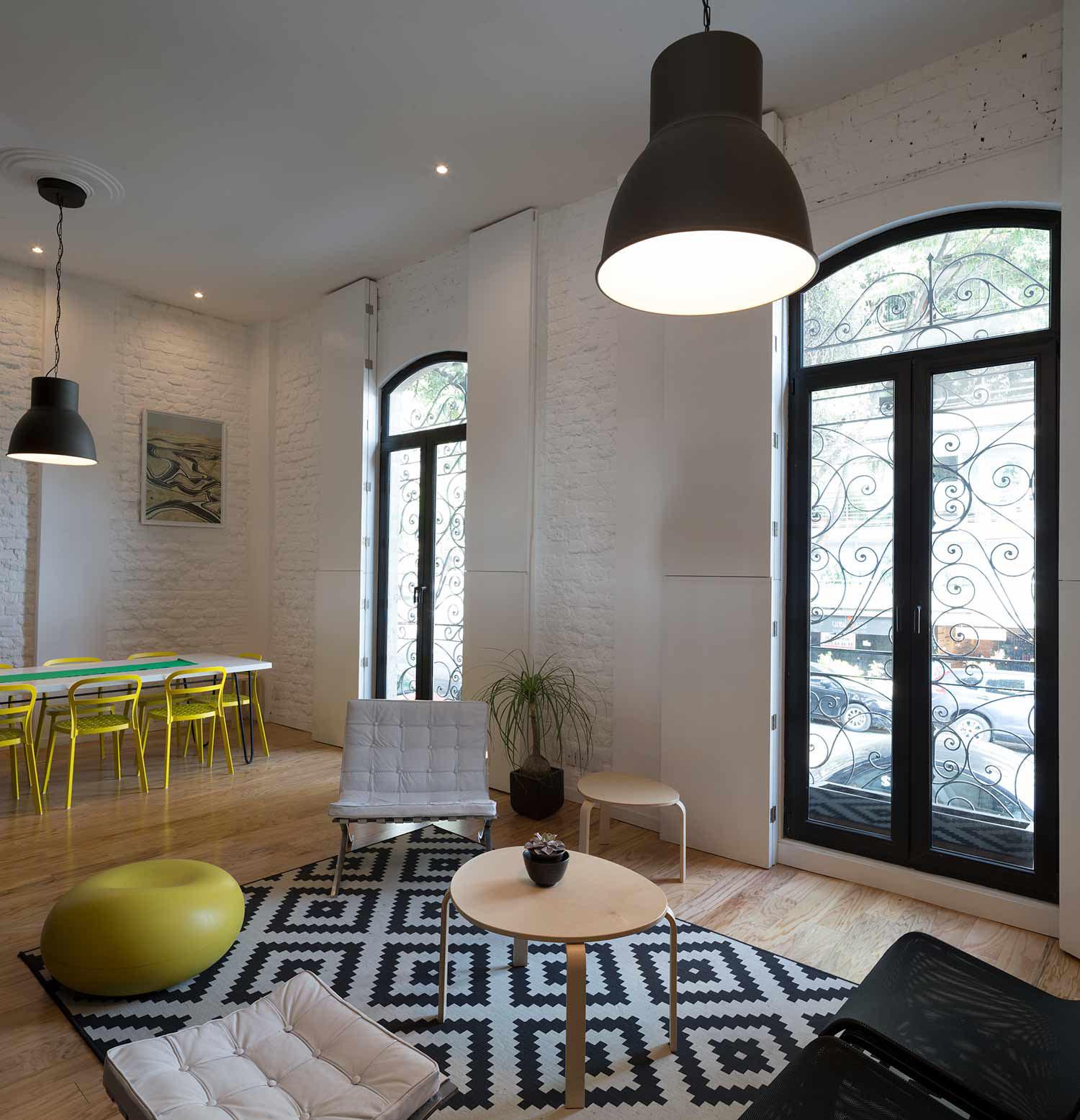 Stylish Loft Apartment In Mexico City iDesignArch Interior