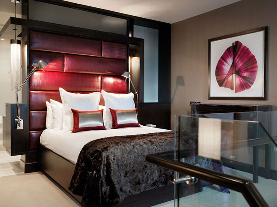 Cosmopolitan 2 Bedroom City Suite Concept Property swanky hotel interior design: the cosmopolitan of las vegas