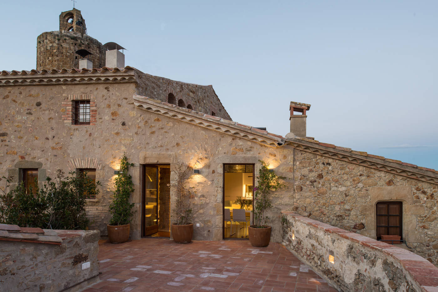 A 19th century stone house on the costa brava transformed for Mediterranean stone houses