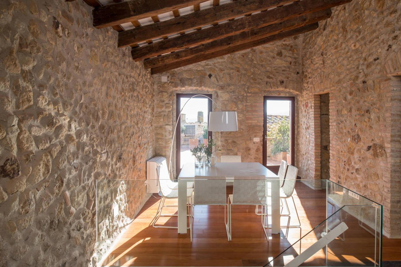 Costa Brava Mediterranean Stone House 9 Idesignarch