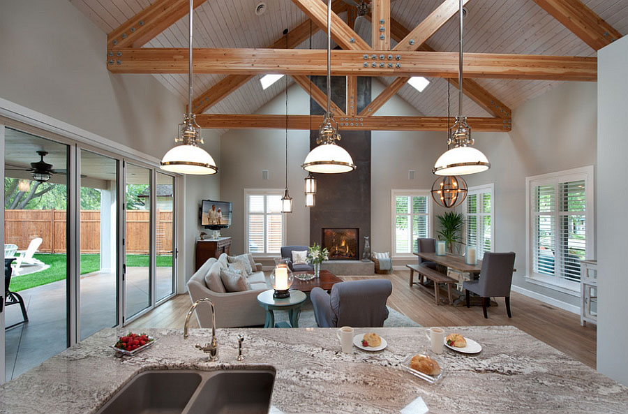 West coast cottage style bungalow home in british columbia for Modern bungalow design concept