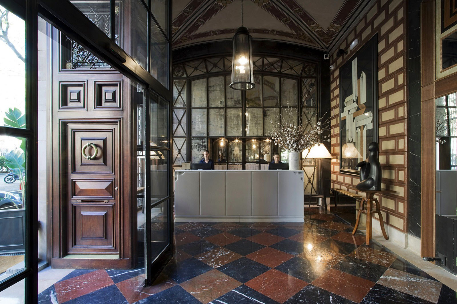 Cotton house hotel barcelona mixes neoclassical elements - Contemporary style interior design ...