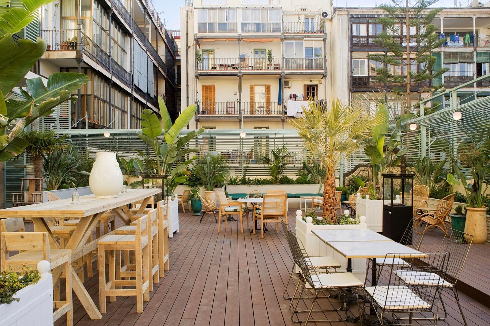 Outdoor Terrace Restaurant