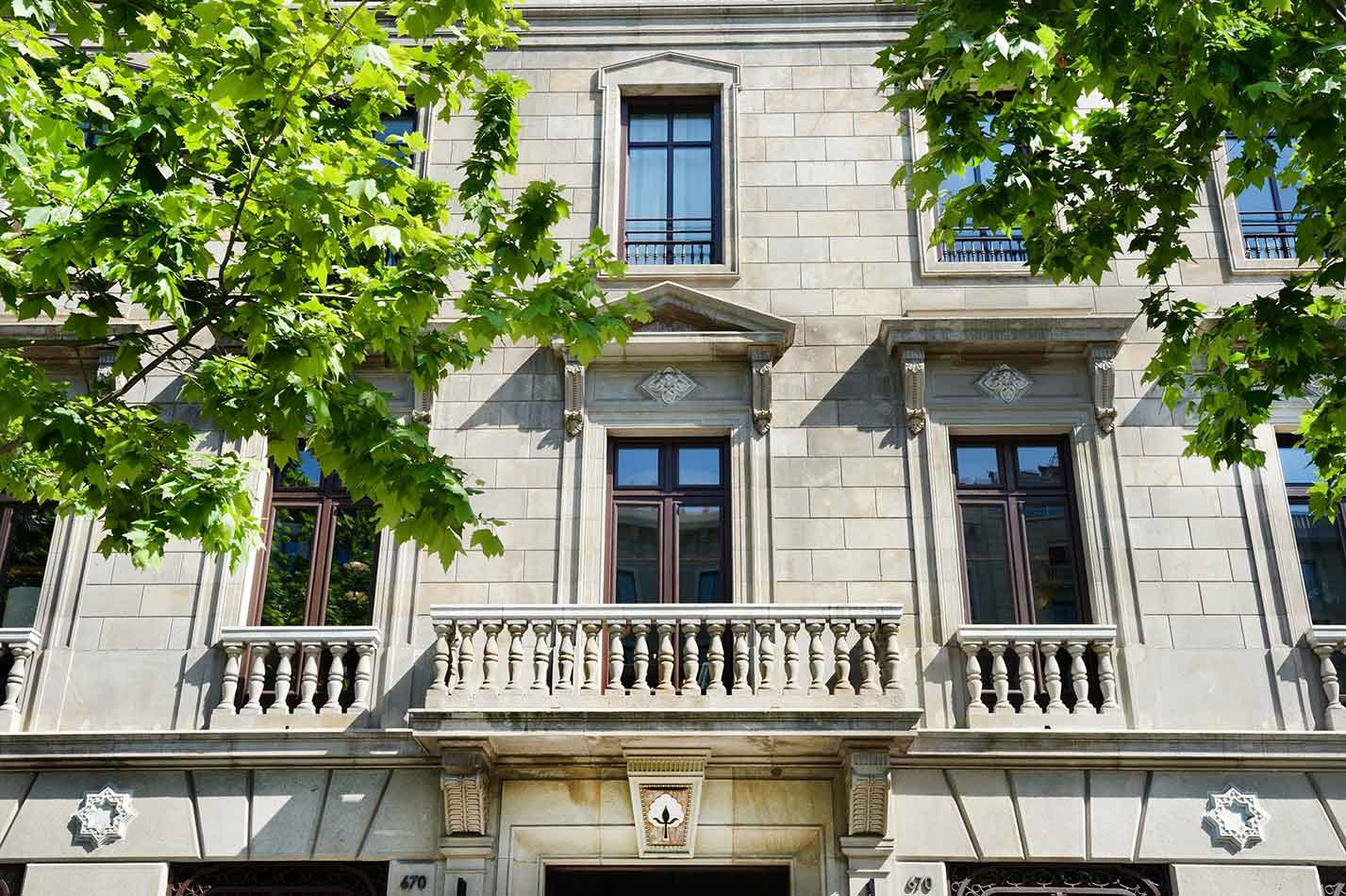 Cotton House Hotel Barcelona Neoclassical Architecture