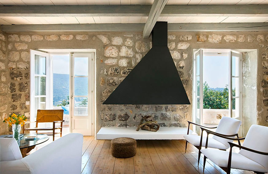 Etonnant Rustic Country House In Croatia With Contemporary Elements