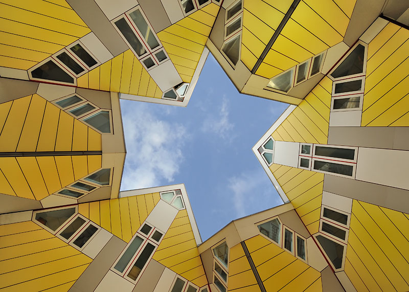 Cube Houses Rotterdam Idesignarch Interior Design