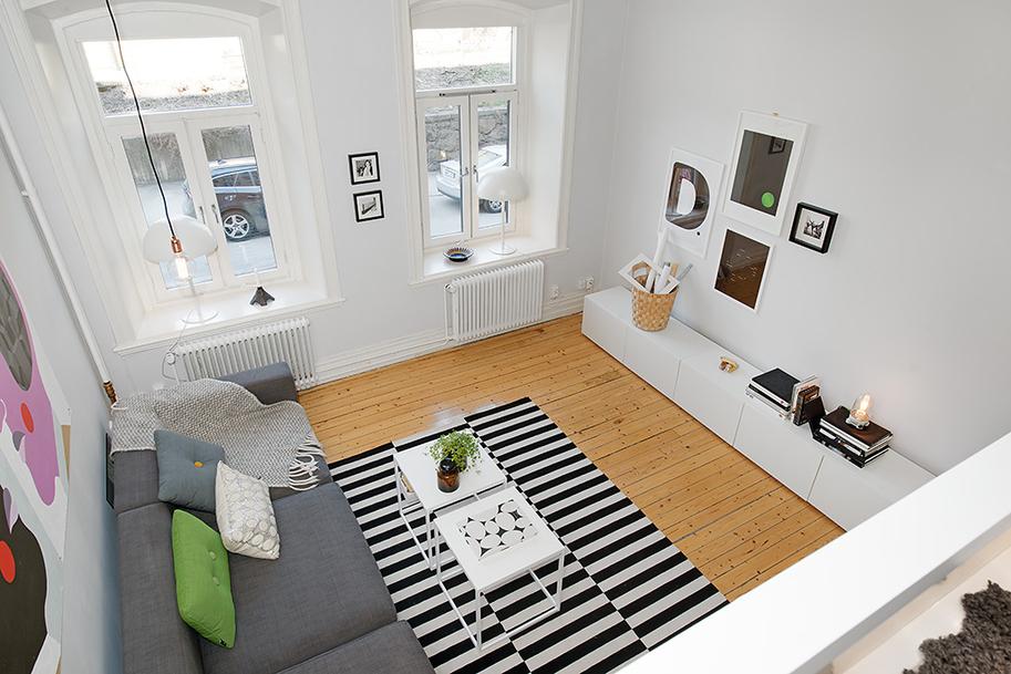 Custom-Built Small Loft Apartment In Stockholm | iDesignArch ...