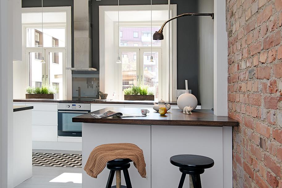 Custom Built Small Loft Apartment In Stockholm  iDesignArch  Interior Desig