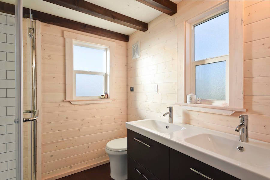 Tiny House Spacious Bathroom