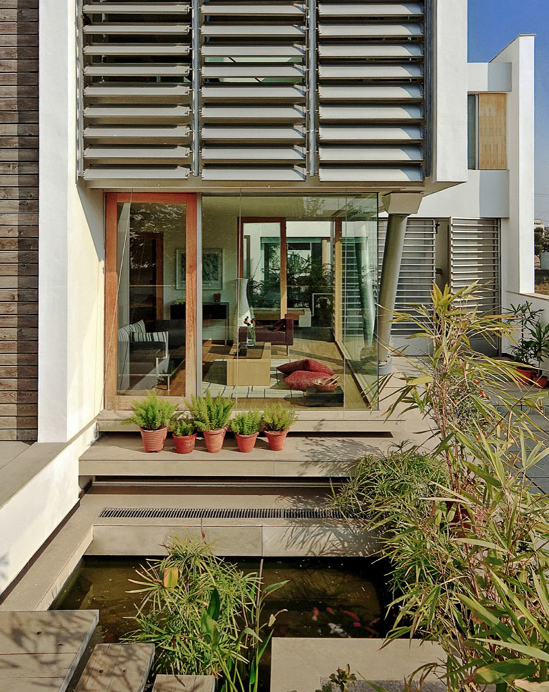 Modernist House In India A Fusion Of Traditional And Modern