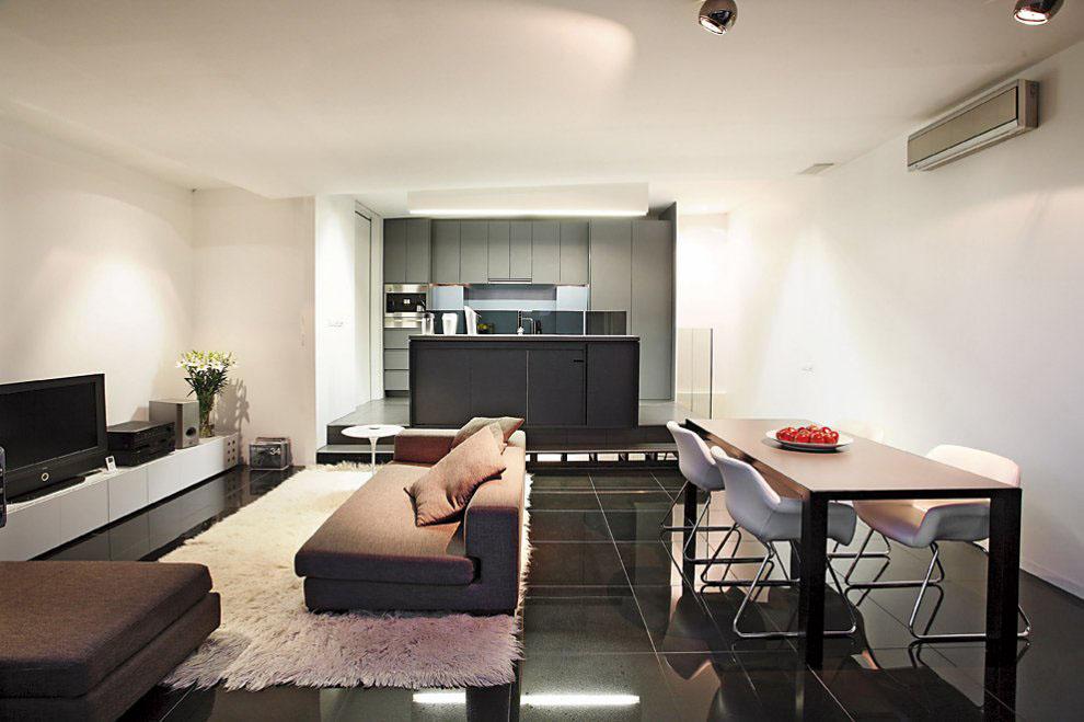 Warehouse apartment in north melbourne idesignarch for Apartment design melbourne