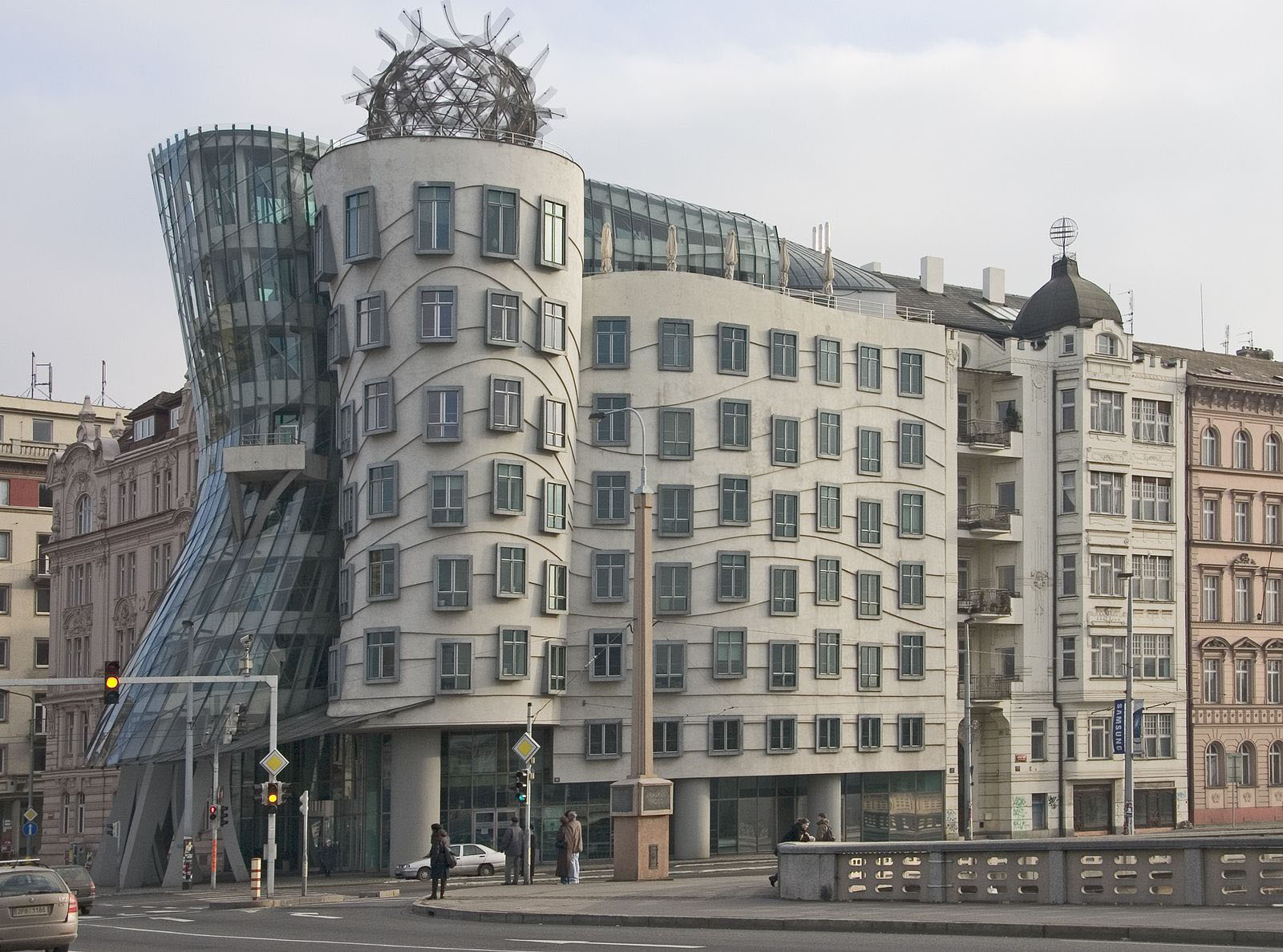 Prague-Dancing-Building