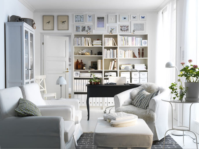 Decorating Ideas For Living Rooms From IKEA