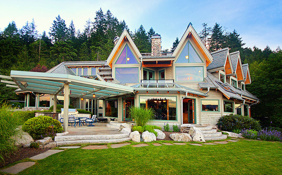 Landmark waterfront estate in vancouver idesignarch for Home designs bc
