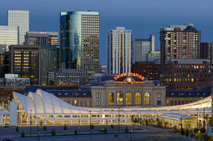 Downtown Denver Colorado Train Station