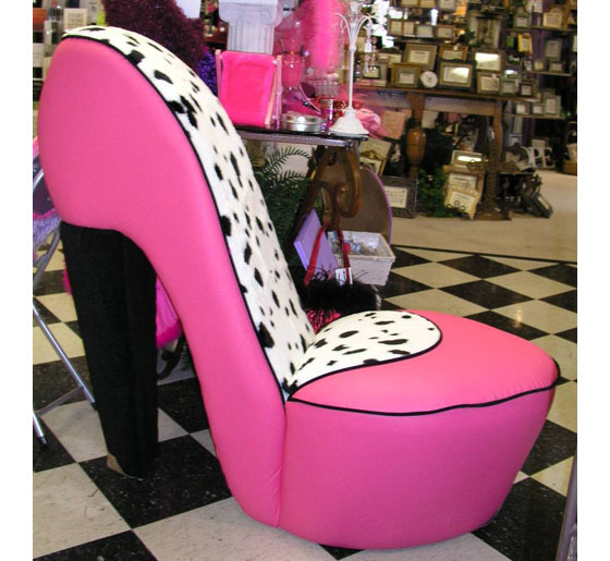 Funky Diva Shoe Chairs Idesignarch Interior Design