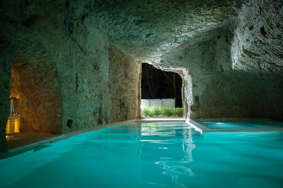 Underground Cave Pool