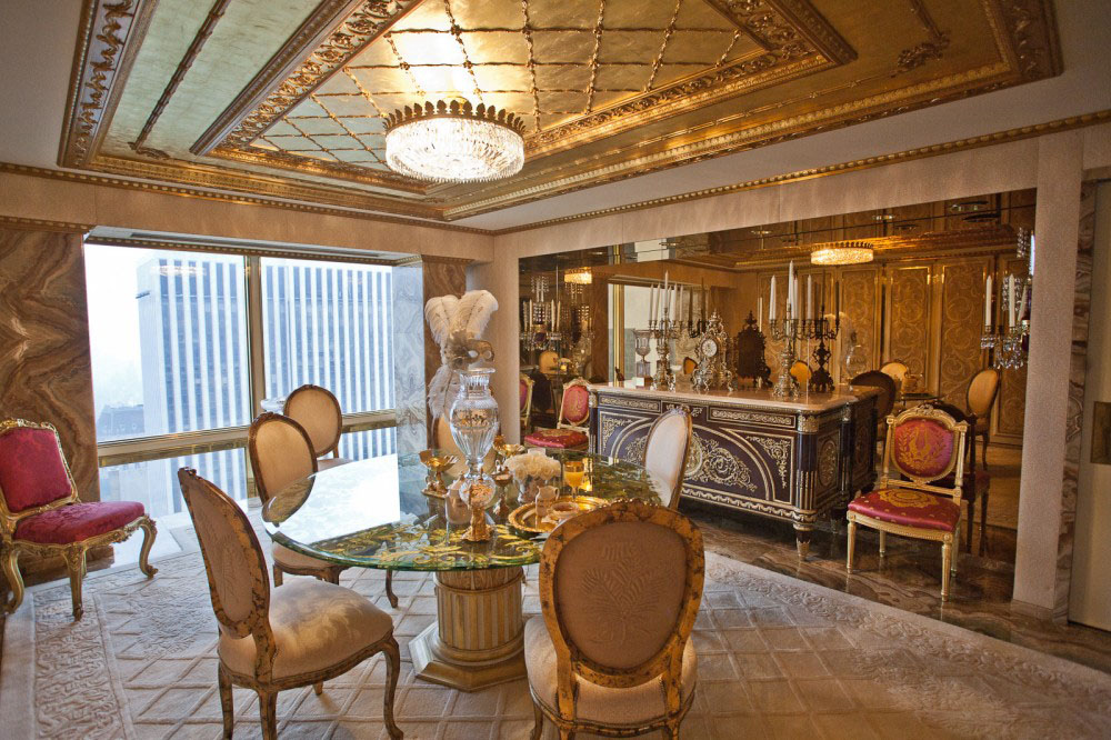 Donald Trump Apartment New York | The stunning penthouse