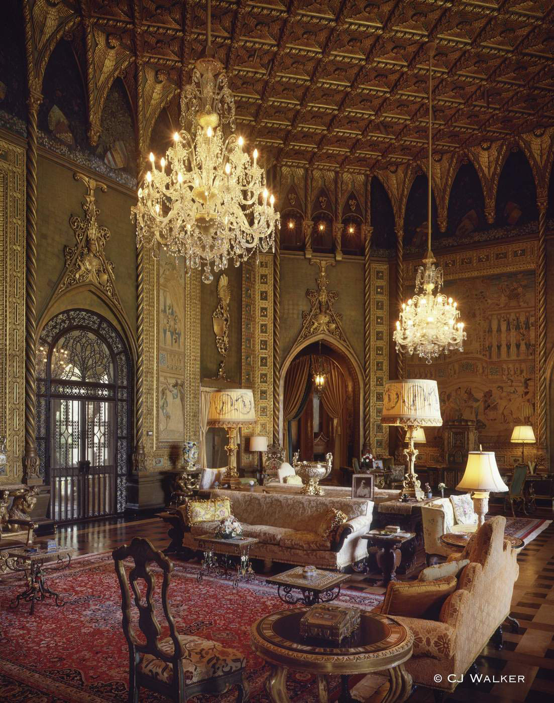 Mar-a-Lago Living Room