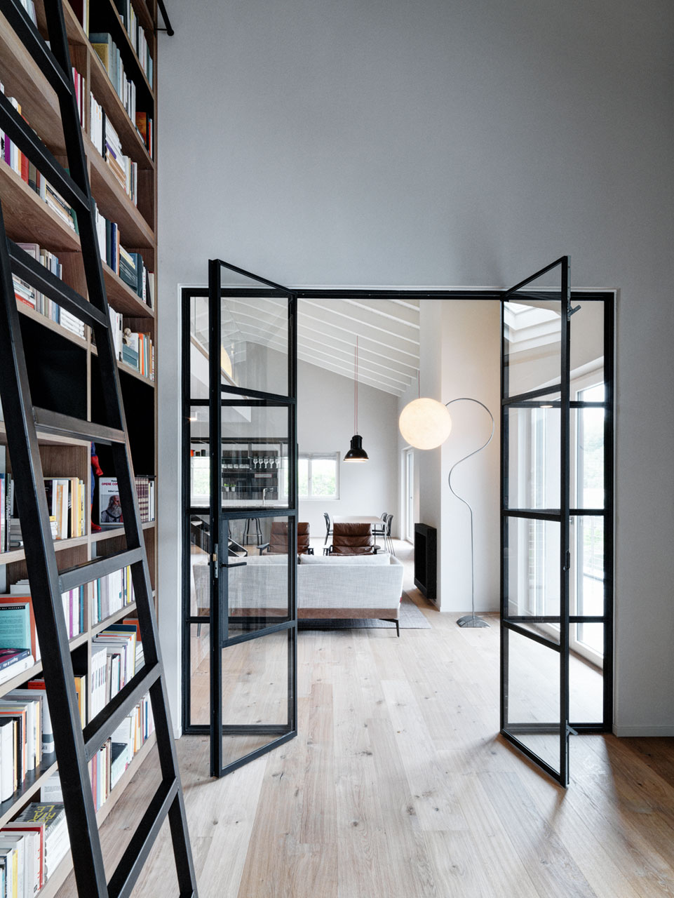 Home Office Library Contemporary